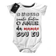 Body Baby Rock - Amor da Mamãe  - White