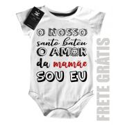 Body Baby Rock - Amor da Mamãe  - White