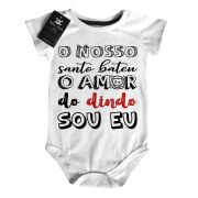 Body Baby Rock - Amor do Dindo - White