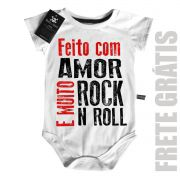 Body Baby Rock -  Feito com amor e Rock n' Roll  - White