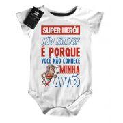 Body Baby Rock - Herói não existe? Vovó - White
