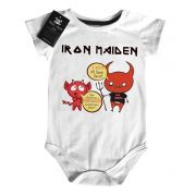 Body Baby Rock Iron Maiden Quem dera - White