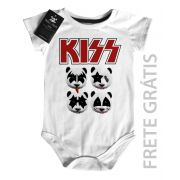 Body Baby Rock - Kiss - Panda - White