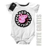 Body Baby Rock - Red Hot Chili Peppa - White