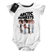 Body Bebe Baby  Rock -  Arctic Monkeys- White