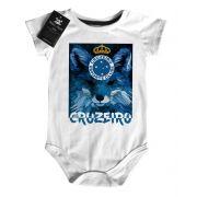 Body Bebe de Cruzeiro  Time-  Futebol - White