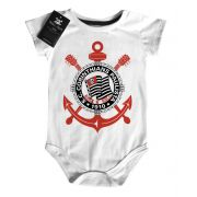 Body Bebe de FutRock  Time-  Corinthians Rock N' Roll - White