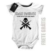 Body Bebe de Rock Iron Life and Death - White