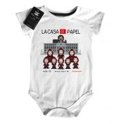 Body Bebe de Rock La casa de Papel Nerd / Geek - White