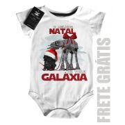 Body Bebe de  Rock Natal - Star Wars - White