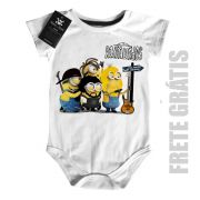 Body Bebê de Rock Raimundos Minions Baby Monster