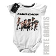 Body Bebe de Rock Rammstein- White
