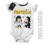 Body Bebê filmes Pulp Fiction - Snoopy  (Tarantino) - White