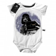 Body Bebê Floyd/Darth  - White