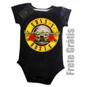 Body Bebê GUNS N ROSES - Black