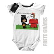 Body Bebê Guns N Roses Snoopy - White