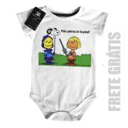 Body Bebê   He man Snoopy -  White