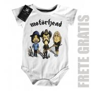 Body Bebe Motorhead - Caricature - White