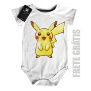 Body Bebe Nerd Geek POKEMON - White