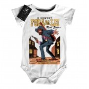 Body Bebê Raul Seixas  Cowboy Fora da Lei