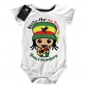 Body Bebe Reggae Presente de um Beija-Flor