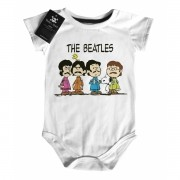 Body Bebê Rock The Beatles - Snoopy - White