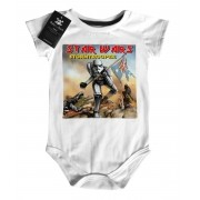 Body Bebê Star Wars / Iron Maiden - White