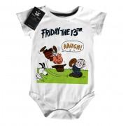Body Bebê Terror Snoopy Sexta feira 13
