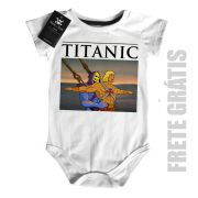 Body Bebê  Titanic He man -  White