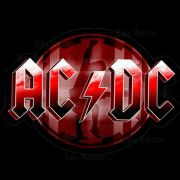 Body, Camiseta, Babador de  Rock Acdc Red Stamp