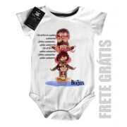 Body  de Rock Bebê Beatles Submarino - White