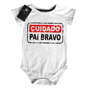 Body Divertido - Cuidado Pai Bravo- White