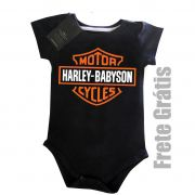 Body Moto Rock - Harley Babyson - Black