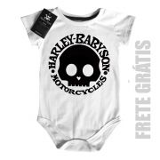 Body Moto Rock - Harley Babyson - White
