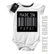 Body  Nerd / Geek  Bebe  Made  In Papai - White