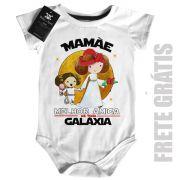 Body Nerd / Geek  Mamãe Melhor amiga da Galáxia (Menina)
