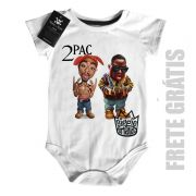 Body  Rap / Hip-hop  2 pac e Biggie Smalls - White