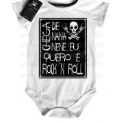 Body Rock Baby - Chega de Nana Neném - White/Black