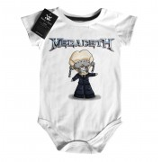 Body Rock Baby Megadeth - White