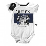 Body Rock Baby QUEEN - Caricato - White