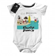Body Rock Bebe Charlie Brown JR  Snoppy - Praia