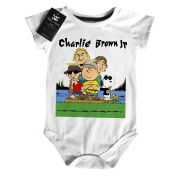 Body Rock Bebe Charlie Brown JR  Snoppy - White
