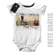 Body Rock  Bebê Pink Floyd Simpsons - White