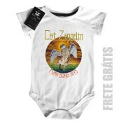 Body Rock  Cat Zeppelin Cute - White