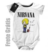 Body rock   Nirvana - Kurt CUTE - White