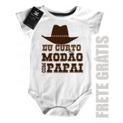Body  Sertanejo Curto Modão com o Papai - White