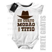 Body  Sertanejo Curto Modão com o Titio- White