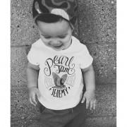 Camiseta Baby de Rock Infantil - Pearl Jam  Jeremy - White