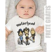Camiseta Bebê Motorhead - Caricature - White