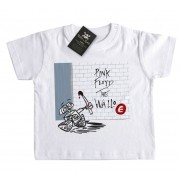 Camiseta  Bebê Rock - The Wall-e Floyd - White